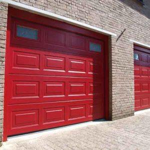 Sectionaal elektrische garagedeur