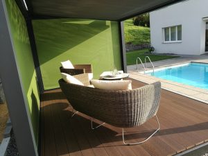 Cubola Solidare zonwering terrasoverkapping